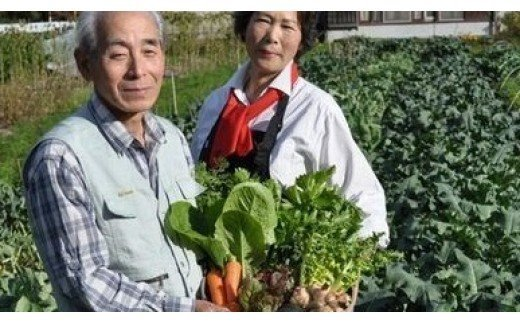 西田農園の西田俊一と西田幸恵は夫婦とも野菜のソムリエです。