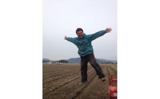 お米の生産者の森さんです。