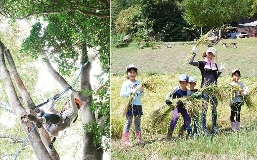 むつざわの里山を満喫できる 自然体験イベント参加チケット