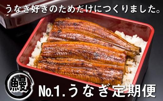 NO.1【うなぎ好きのための定期便】大サイズ6尾12ヵ月(国産ニンニクの芽付き)