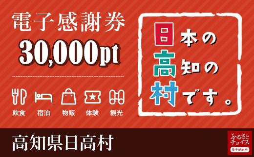 日高村 電子感謝券 30,000ポイント