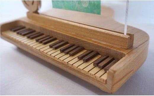 NC02 【ギフトにおすすめ】ピアノのフォトスタンド【木の工房あんくるうっど】-3