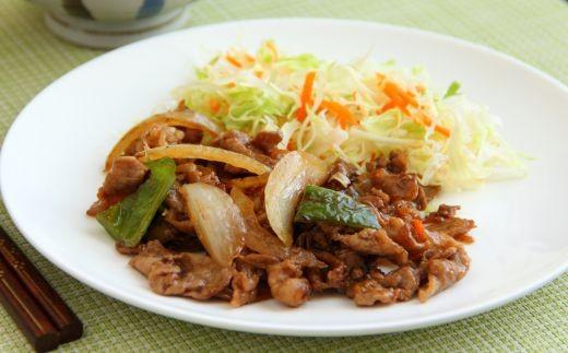 お肉と野菜との相性抜群!ご飯がすすみます。
