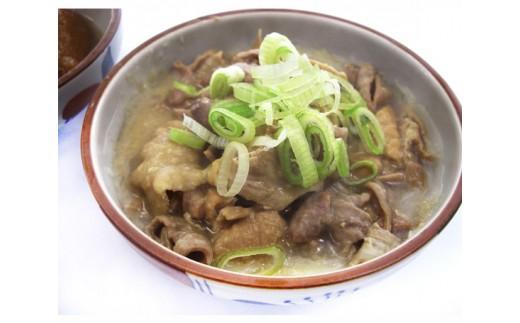 No.358 シルクポーク晩御飯お役立ちセットC / 豚肉 角煮 ホルモン煮込 秋田県