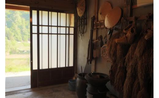 農家民宿「おっこの木」玄関