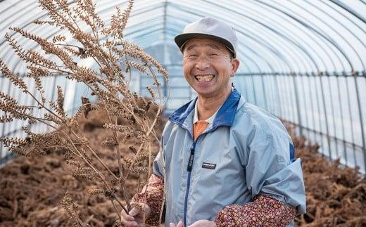 専業農家としてお米や野菜を育てている昆野雄嗣さん。人が食べるものだからこそ人に必要ない物は使わないがモットーです