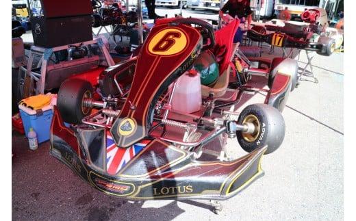 こちらにもSPS川口のロゴが。F1好きの方ならご存知かもしれませんよね。LOTUS(ロータス)です。