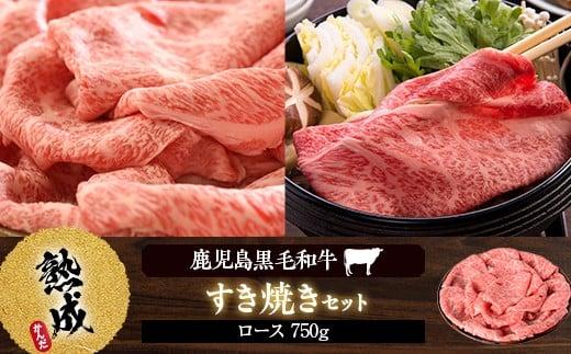 E-002 黒毛和牛すき焼き 750g Aセット