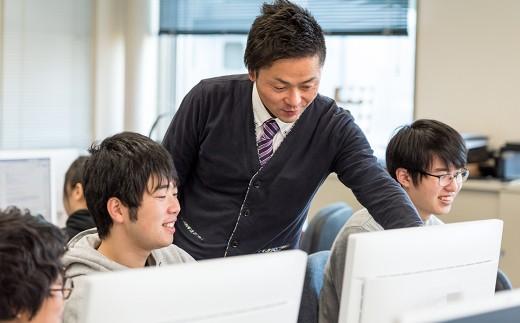 学生に対し、真剣に親身に応える講師陣の熱心な指導も、北上コンピュータ・アカデミーの魅力の一つです。