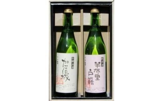 【14044】純米酒「半布里戸籍」・本醸造酒「加治田城」2本セット