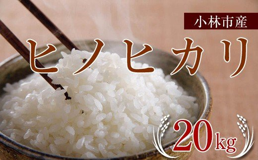 「特A米」小林産ヒノヒカリ<20kg:西諸米穀商協同組合> SNB04
