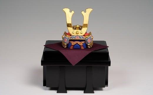 LF-2.【端午の節句のお祝いに】奈良一刀彫 五月人形 兜 4号