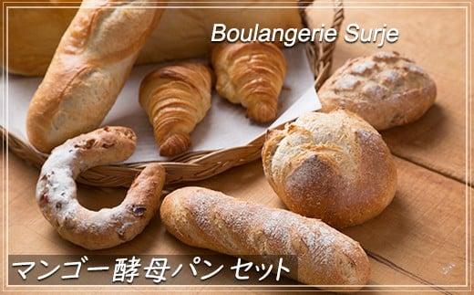 【010-016】パン好き必見!話題のマンゴー酵母パンセット