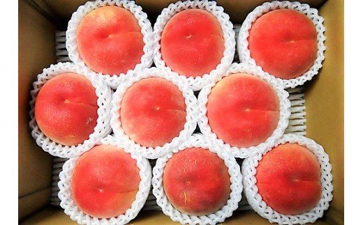 0017-2010 山形の旬の硬い桃(品種おまかせ)3kg