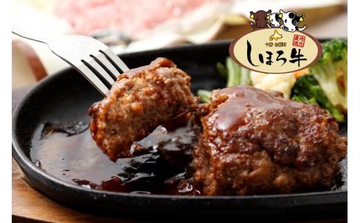 【N02】しほろ牛ハンバーグセット(150g×8個)
