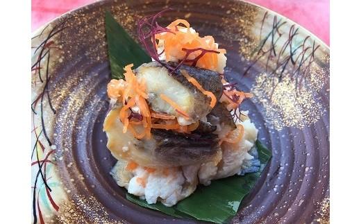 [№5685-1045]秋田の郷土料理 ハタハタ切り寿し700g(ハタハタ 魚介 魚 加工 おつまみ)