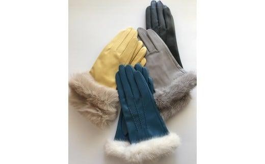 手袋職人が作るあなただけのオーダー革手袋(ファー付き)