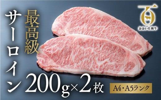 E2-01 「おおいた和牛」サーロインステーキ(200g×2枚)