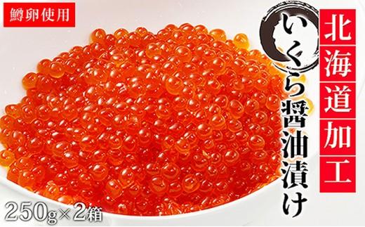 [№4630-0799]えりも【マルデン特製】イクラ醤油漬250g×2箱