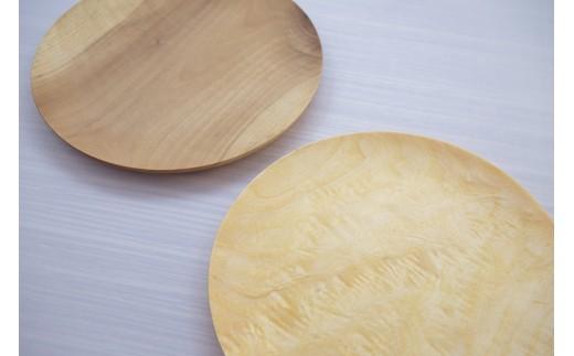 朝食プレート 飛騨の木から生まれた森を守るお皿(プレーン)