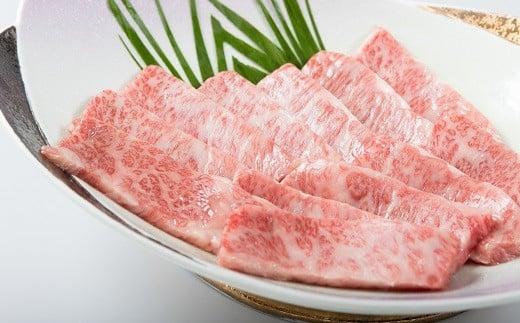 【C5-004】松浦食肉組合厳選A4ランク以上 極上!長崎和牛肩ロース焼肉用500g