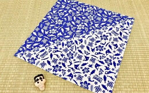 336 フラシティいわき オリジナル風呂敷「フラしき」大小セット 一色ver.