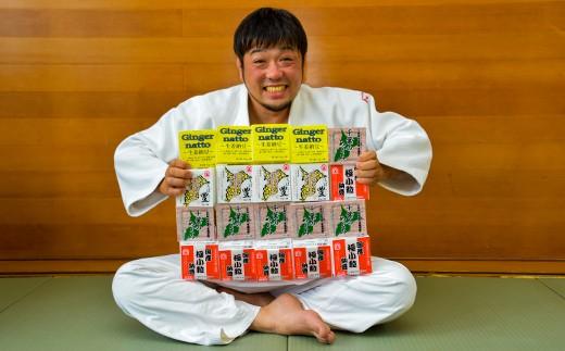柔道をこよなく愛す、納豆職人の色川さん。