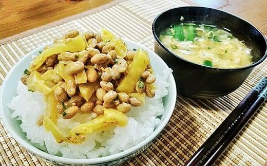 オリジナルの納豆レシピをFaceBookで公開中