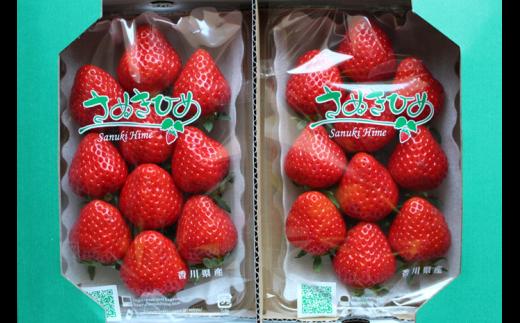 902 YOSHIMOTO FARM~さぬきひめいちご~約1.1kg