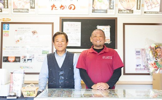『たかの』2代目(左)・3代目(右)の高野さん親子