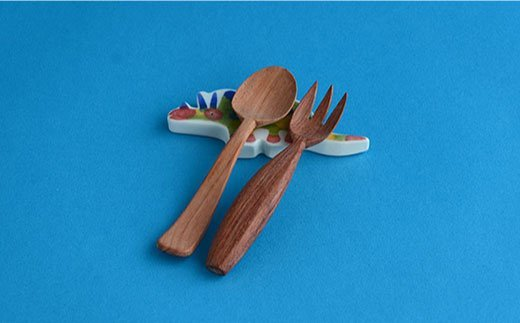 KIDS DINO 飯碗・箸置き トリケラトプス