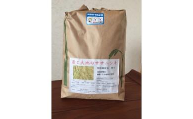 ササニシキ5kg・宮城県認証農薬不使用米