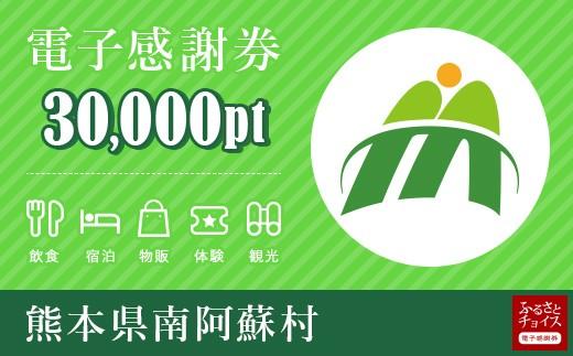 [m-300] 南阿蘇村 電子感謝券 30,000ポイント