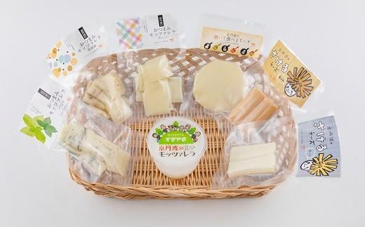 ミルクファームすぎやまチーズ工房の商品を詰め合わせにしました。