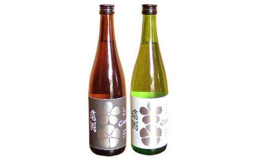 J0161積善GINZA 純米大吟醸・純米吟醸の2本セット