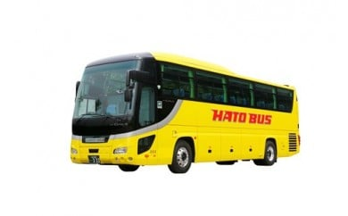 はとバス定期観光バス  C105「鎌倉・江ノ島(K)」オープン乗車券