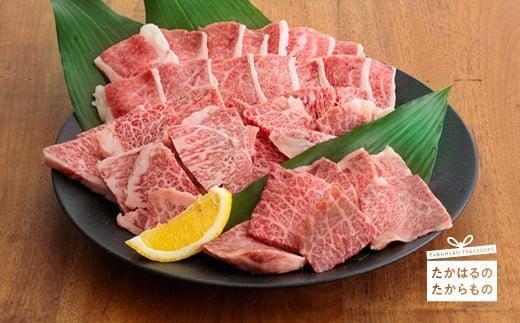 特産品番号385 宮崎牛肩ロース焼肉