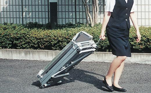 車輪付きでどこでも持ち運んで使用できるロングセラー