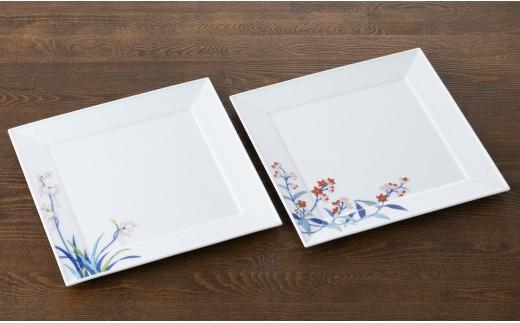 伊万里焼皿(絵柄は異なる場合があります)