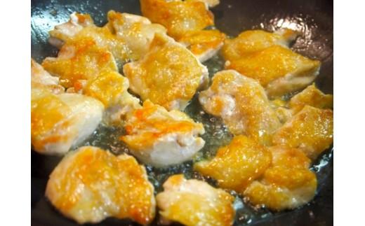 調理例:鶏肉のソテー