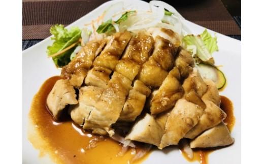 調理例:チキンステーキ