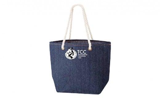 [№5900-0215]TCCオリジナルデニムトートバッグ+TCCセラピーパーク見学体験ツアー