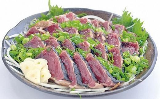 [1356]高知黒潮町 土佐佐賀水産の藁焼き鰹たたき2節セット