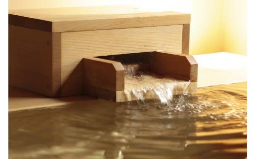 194-01jin 温泉一人旅。元湯陣屋人気の逸品会席プラン(一泊二食・1名様。檜内風呂付客室)