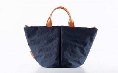 豊岡鞄 トートバッグS (ネイビー)TUTUMU Marche mini (S1800 24-145)