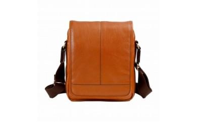 豊岡鞄 皮革縦型フラップSD(ブラウン)