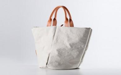 豊岡鞄 トートバッグS (キナリ)TUTUMU Marche mini (S1800 24-145)