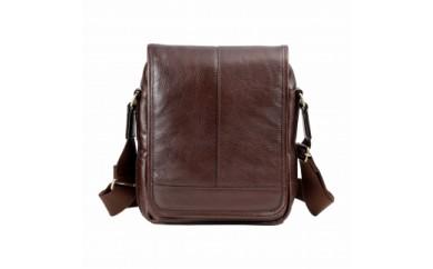 豊岡鞄 皮革縦型フラップSD(チョコ)