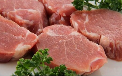 D1217 塚原牧場の幻の豚「梅山豚」厚切りヒレ肉480g