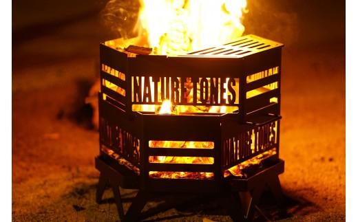 945 【ネイチャートーンズ】タワーオブボンファイヤー耐熱ブラック塗装[キャンプ用品・アウトドア焚き火]【予約商品】